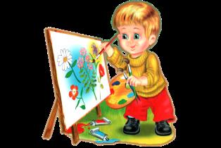 Картинки по запросу дети рисуют клипарт