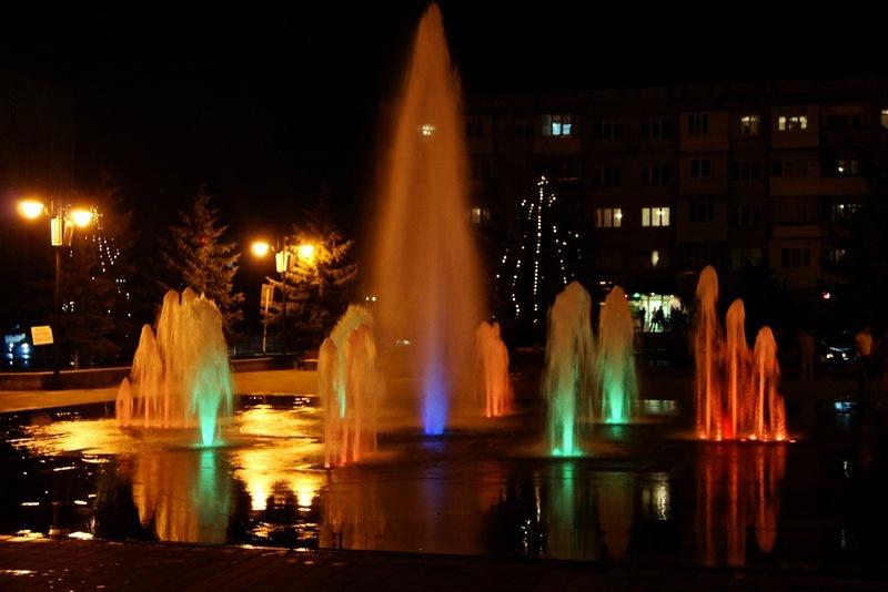 Светомузыкальный фонтан, Черкесск