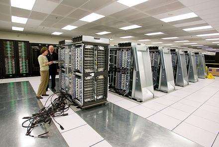 Имитация работы 1 млрд нервных клеток была выполнена на суперкомпьютере Dawn