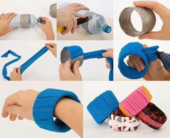 Картинки по запросу браслет из пластиковой бутылки своими руками