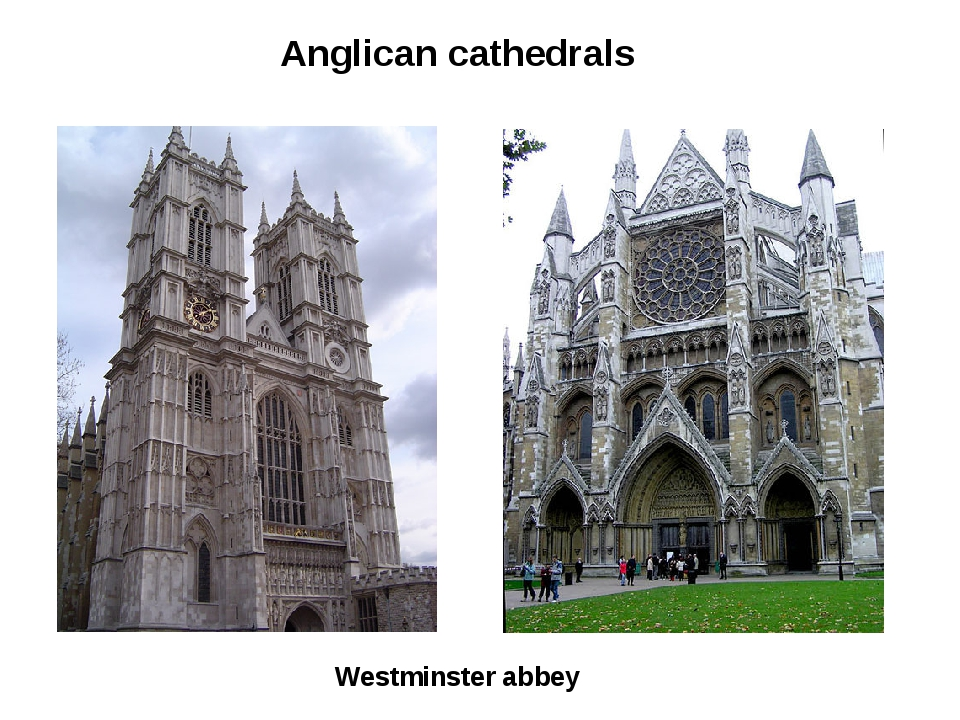 Westminster abbey Anglican cathedrals