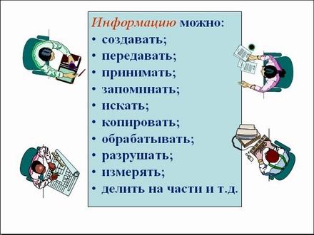 Презентация Информационная деятельность человека  325 jpg
