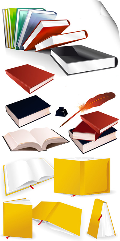 Книги векторные