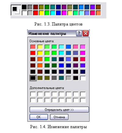 paint знакомство с программой
